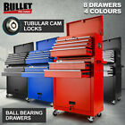 NEW Bullet 8 Drawer Tool Box Cabinet Chest Storage Garage Toolbox Organiser Set