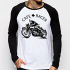 Cafe Racer classic Motorcycle triumph norton enfield baseball t-shirt OZ9168 $21.99 CAD on eBay