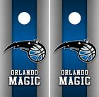Orlando Magic Cornhole Wrap NBA Game Board Skin Vinyl Decal Art Decor Set CO682 on eBay