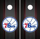 Philadelphia 76ers Cornhole Wrap NBA Game Board Skin Vinyl Decal Luxury CO687 on eBay