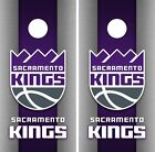 Sacramento Kings Cornhole Wrap NBA Game Skin Board Vinyl Decal Art Set CO706 on eBay