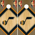 Utah Jazz Cornhole Wrap NBA Game Skin Board Vinyl Decal Wood Set CO720 on eBay