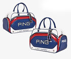 PING Golf Boston Bag Navy Khaki 18 Sporty V3 Carry with shoulder belt Authentic