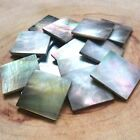 25 of 15mm/20mm Square Shell Guitar Inlay Mosaic Abalone Mother of pearl Tahiti for sale