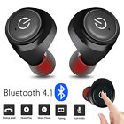 Wireless Bluetooth Mini Earbuds w/ Mic True Bass Twins Stereo In-Ear Earphones