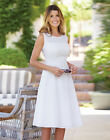 BRAVISSIMO Broderie Day Dress in WHITE (87)