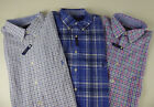 Polo Ralph Lauren LS 100% Cotton Stretch Plaid Shirt $98.50 NWT Pink Blue Green