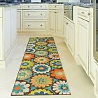 KITCHEN RUGS CARPET AREA RUG RUNNERS OUTDOOR CARPET FLORAL PATIO RUNNER NEW RUGS