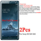 2X 9H Tempered Glass Screen Protector Film For Sony Xperia XZ XZ1 XZ2 XA XA1 XA2