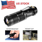 Внешний вид - LED Tactical Flashlight Military Grade Torch Small Super Bright Handheld Light