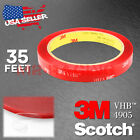 **35 Feet**Genuine 3M VHB #4905 Double-Sided Mounting Acrylic Foam Tape Adhesive