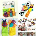 Внешний вид - Newborn Baby Kid Child Wrist Socks Rattles Toy Hand Foot Finders Decors Gifts 0+