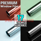 Window Tint One Way Mirror Film UV Heat Reflective Home Office Privacy Protect