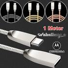 FOR Motorola Moto Z2 Soldiers Edition Type C USB 3.1 Phone Data Sync Charger Cable