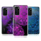 HEAD CASE DESIGNS GLITTER MANDALA PRINTS SOFT GEL CASE FOR HUAWEI PHONES