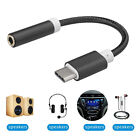 Type C to 3.5mm Jack Stereo Aux Headphone Earphone Audio Adapter Cable Cord
