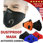 Kyпить Unisex Outdoor Anti Smoke Dust Air Purifying Face Mask Carbon Filter multi layer на еВаy.соm