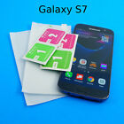 Quality Tempered Glass Screen Protectors HD 9H Hard Lot for Samsung Galaxy S7