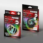 3D Magic Flow Ring Toys Funny Kinetic Spring Arm Slinky Juggle Rainbow Dance UK