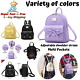Small Cute Backpack Purse For Women Girls PU Leather Mini Travel Daypack Casual photo