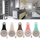 Water Resistant Wall Clock with Quiet Sweep Movement Bathroom Wall Clocks