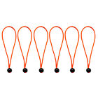 """6pcs 5.9"""" Strong Durable Ball Bungee Cord Tarp Canopy Ties Elastic Straps"""