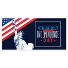 Patriotic Liberty Happy 4th of July Party Banner Decoration