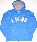Detroit Lions Full-Zip Hoodie Fleece Lined Women's size Large, New w/Tag