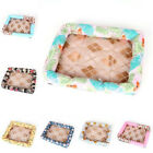 Ice Silk Mat Summer Soft Cozy Cool Stylish Padded Sleeping Bed For Pet Dog Cat