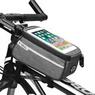 B-soul Waterproof Bicycle Top Tube Bag For 6 Inches Cell Phone Front Frame Case