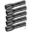 1/2/3/5/10X 10000LM 5 Modes LED Flashlight Zoomable 18650 Focus Torch Light US