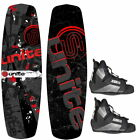 Base Sports Revolver 135 Paquet Wakeboard avec Wakeboardbindung Rouge