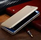 For Samsung Galaxy S9 S8 Slim Flip Magnetic Leather Case Card Wallet Cover Stand