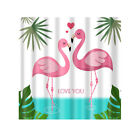 180x180cm Square Shower Curtain with 12 Hooks Hotel Home Bathroom Decoration