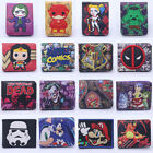 New Pokemon Star Wars Leather Wallet Coin ID Credit Card Holder Best gift $4.99 USD on eBay