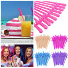 Внешний вид - 20Pcs Hens Night Bachelorette Party Accessory Plastic Willy Dick Dicky Straws