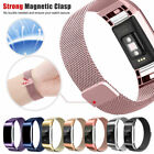 For Fitbit Charge 2 Replacement Magnetic Loop Strap Stainless Steel Wrist Band image
