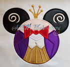 Personalized King Candy Mousehead T-shirt machine embroidere