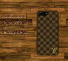 New Brown Louis Vuitton2OI8 Hard Case Cover for iPhone 7 Plus 8 Plus X