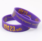 NEW NBA LEBRON JAMES Lakers Silicone Wristband Rubber Bracelet Basketball Sports