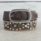 Coronita Cutout Studded Ladies Belt