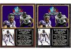 Ray Lewis 2018 Pro Football Hall of Fame Photo Card Plaque $25.15 USD on eBay