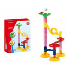 education Block Play Toy Childrens Marble Race Game Marble Run Building Set