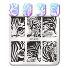 Born Pretty Nail Art Stamping Plates Halloween Christmas Theme Nails Templates