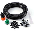 Garden Patio Misting Micro Irrigation Water Cooling System Sprinkler 15/25M