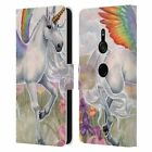 OFFICIAL SELINA FENECH UNICORNS 2 LEATHER BOOK WALLET CASE FOR SONY PHONES 1