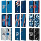 OFFICIAL NBA OKLAHOMA CITY THUNDER LEATHER BOOK WALLET CASE FOR SAMSUNG PHONES 1 on eBay