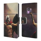 OFFICIAL GENO PEOPLES ART LIFE LEATHER BOOK WALLET CASE FOR SAMSUNG PHONES 1