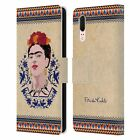 OFFICIAL FRIDA KAHLO PORTRAIT LEATHER BOOK WALLET CASE COVER FOR HUAWEI PHONES