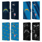 OFFICIAL NFL 2017/18 LOS ANGELES CHARGERS LEATHER BOOK CASE FOR HTC PHONES 1